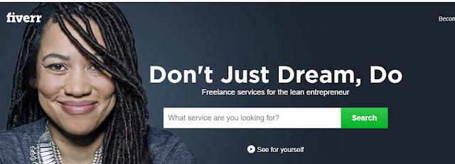 Don't just dream do it. Fiverr
