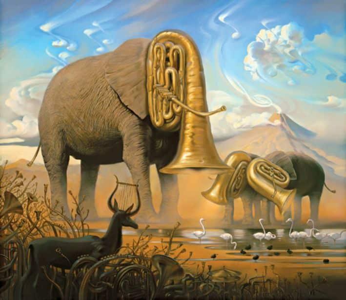 Sonata Africana - Vladimir Kush