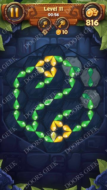 Gems & Magic [Titanium] Level 11 Solution, Walkthrough, Cheats