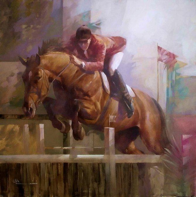 Spartaco Lombardo | pinturas de cavalos