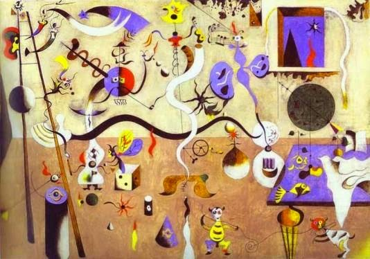 Carnaval de Arlequim - Miró, Joan e suas principais pinturas