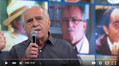 Ary Fontoura ataca governo Dilma em pleno Domingão do Faustão
