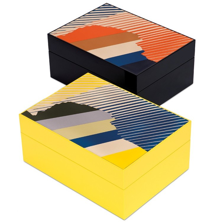 Loewe leather marquetry