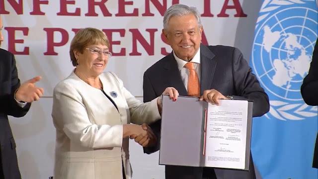 México firma acuerdo con la ONU para supervisar formación en derechos humanos de la nueva Guardia Nacional