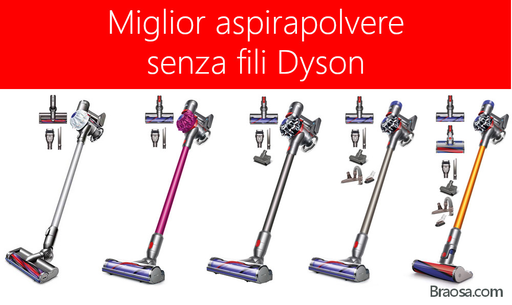 Miglior aspirapolvere senza fili Dyson 2020