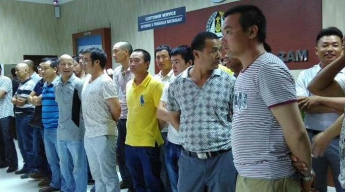 Tenaga Kerja China di Deportasi