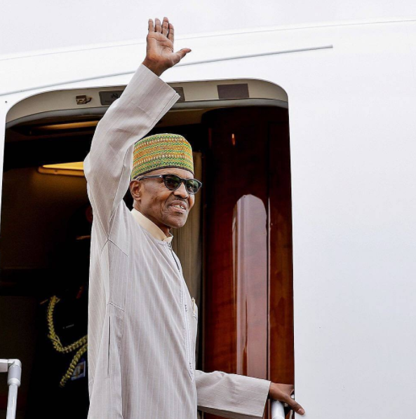 President Buhari Departs for New York for 72nd Session of UN General Assembly