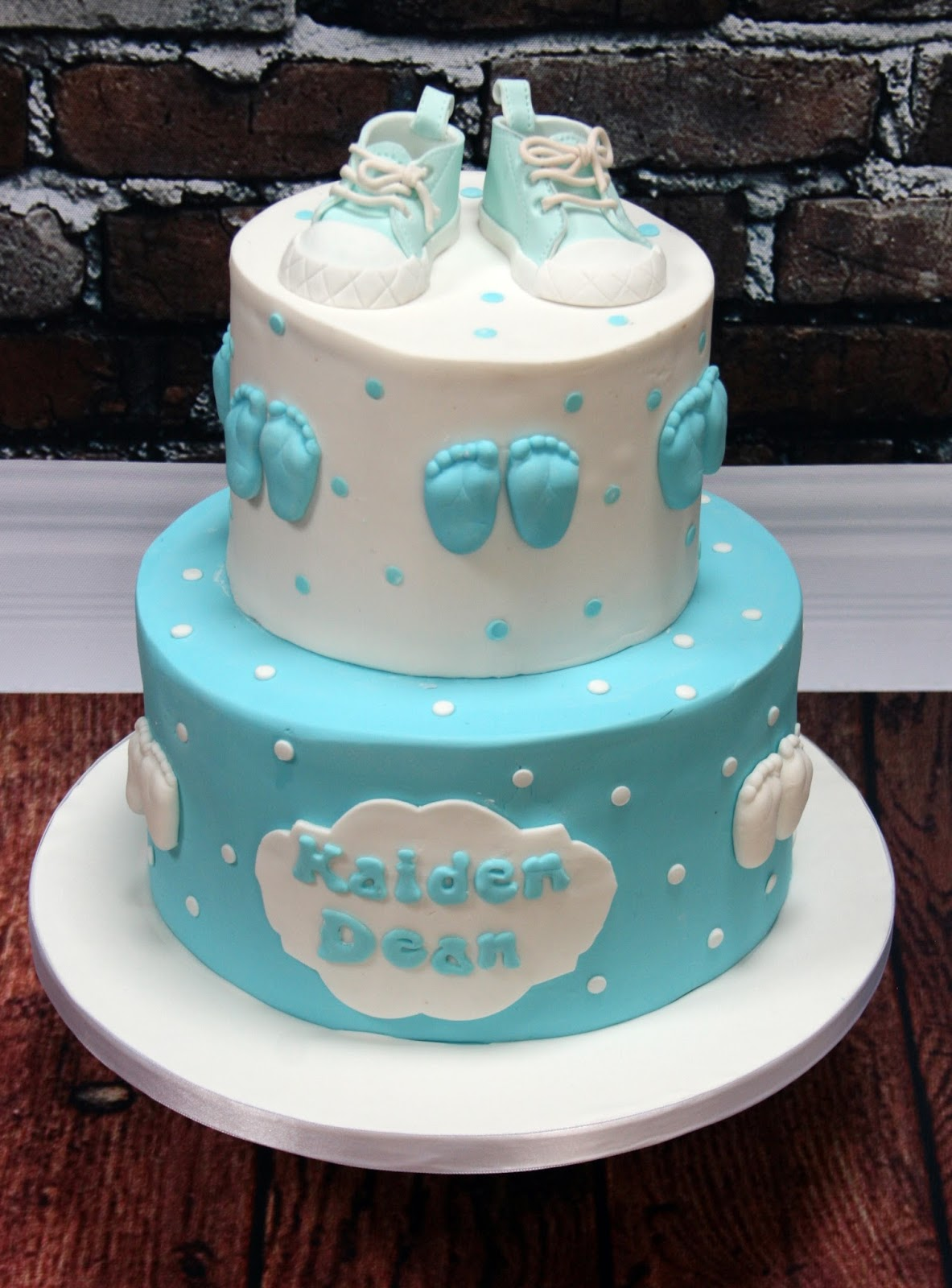 The Perfectionist Confectionist Kaiden Dean Christening Cake