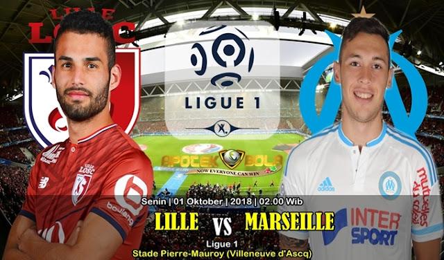 Prediksi Lille Vs Olympique Marseille 1 Oktober 2018