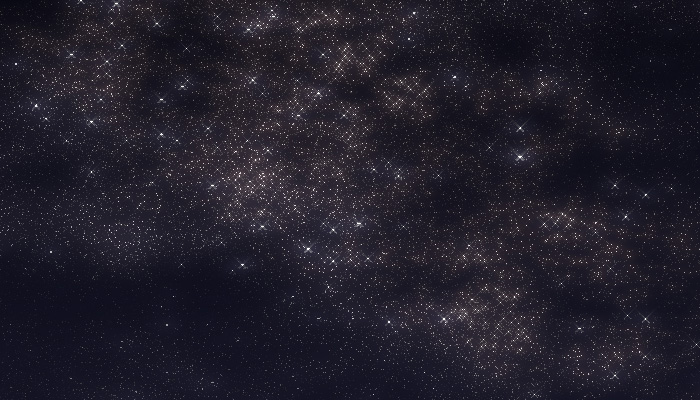 blender3d procedural texture starfield
