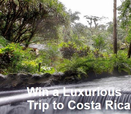 ShermansTravel will be awarding one lucky winner with a fabulous trip to Costa Rica, complete with dining, spa treatments and more!