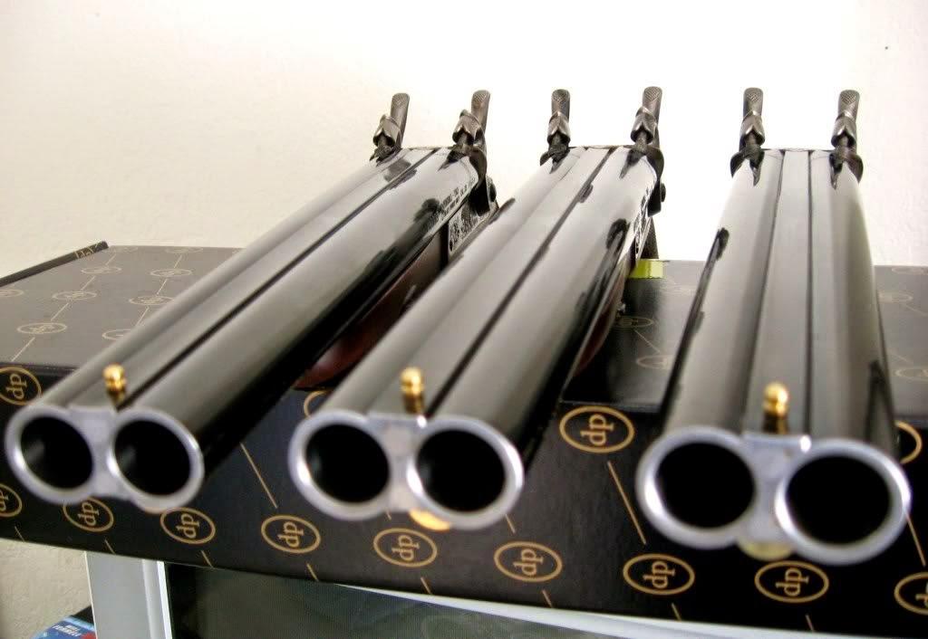 pistolet poudre noire
