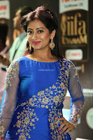 Tejaswini in Blue Gown at IIFA Utsavam Awards 2017  Day 2  HD Exclusive Pics 07.JPG