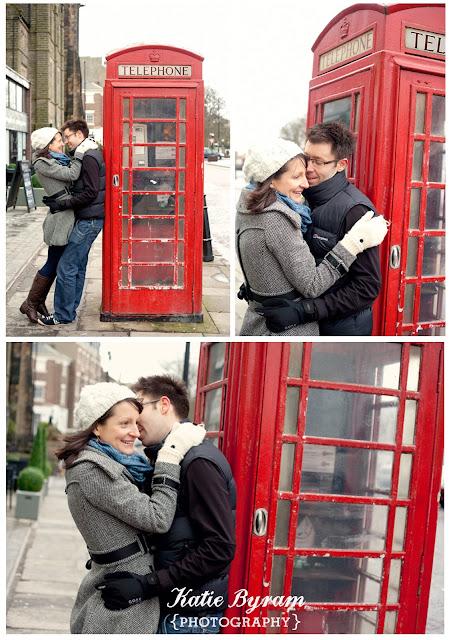 red telephone box, british phone box, tynemouth, north east wedding photography, tynemouth priory, beach photoshoot, engagement photoshoot, pre-wedding photoshoot, katie byram photography,