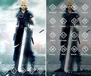 Tema Android Final Fantasy VII