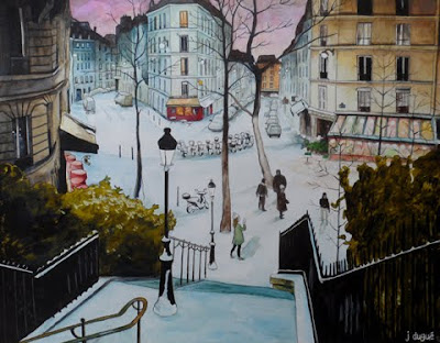 peinture paris utrillo julien dugue