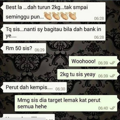 Testimoni GC Max Fat Burner