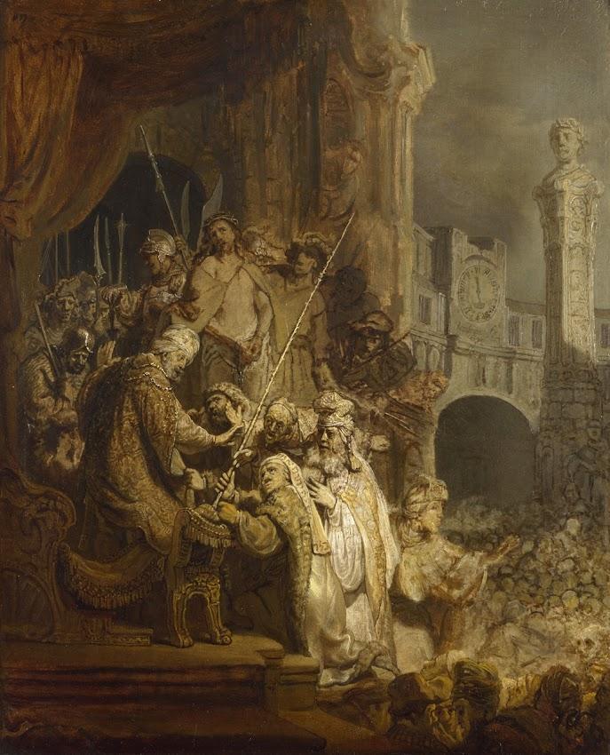 Rembrandt - Ecce Homo