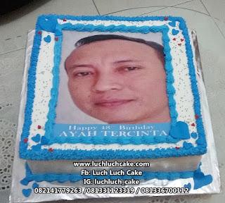 Kue Tart Edible Image Untuk Ayah