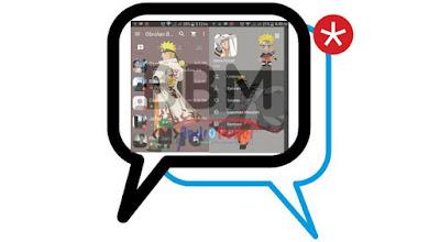 BBM MOD Naruto V2.13.1.14 Apk