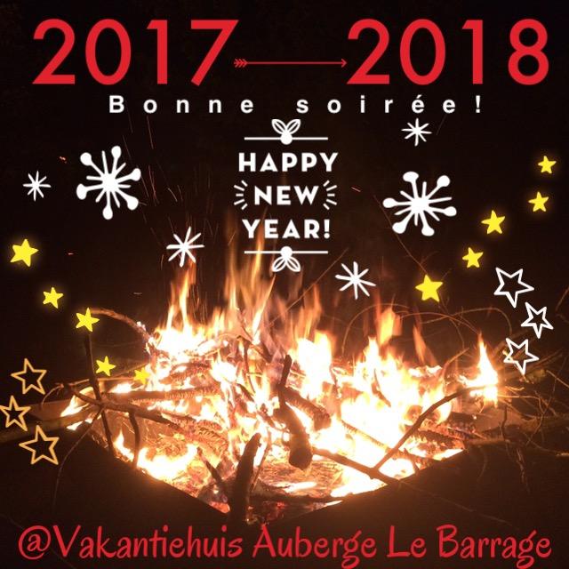 fijne jaarwisseling! 20172018 bij vakantiehuis auberge le barrage