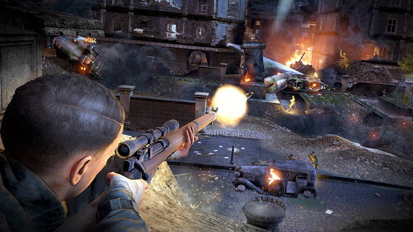 Sniper Elite V2 Remasterizado PC Full Español