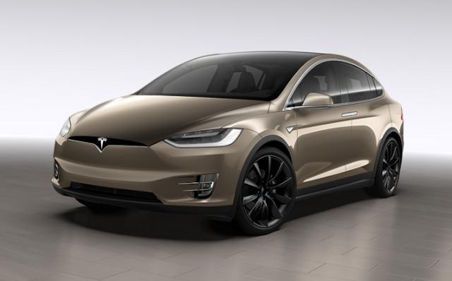 Tesla Model X 2018 Couleurs Colors