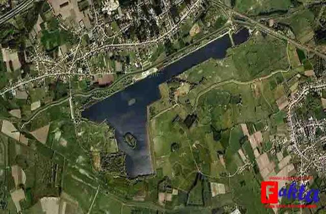 Danau Schulensmeer di Belgia danau paling unik dan aneh di dunia berbentuk pistol