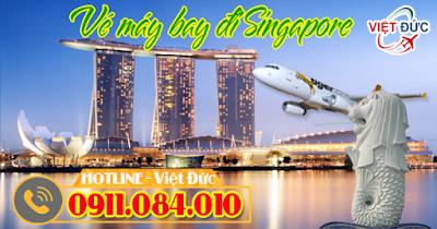 bán vé máy bay đi Singapore chính hãng