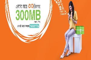 bl 300 mb Internet at 30 tk