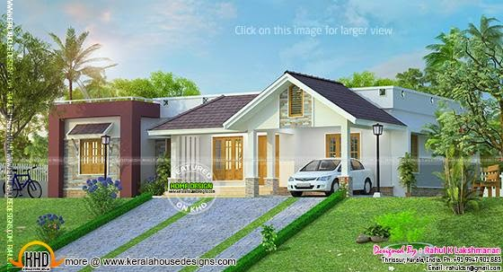Hillside home plan