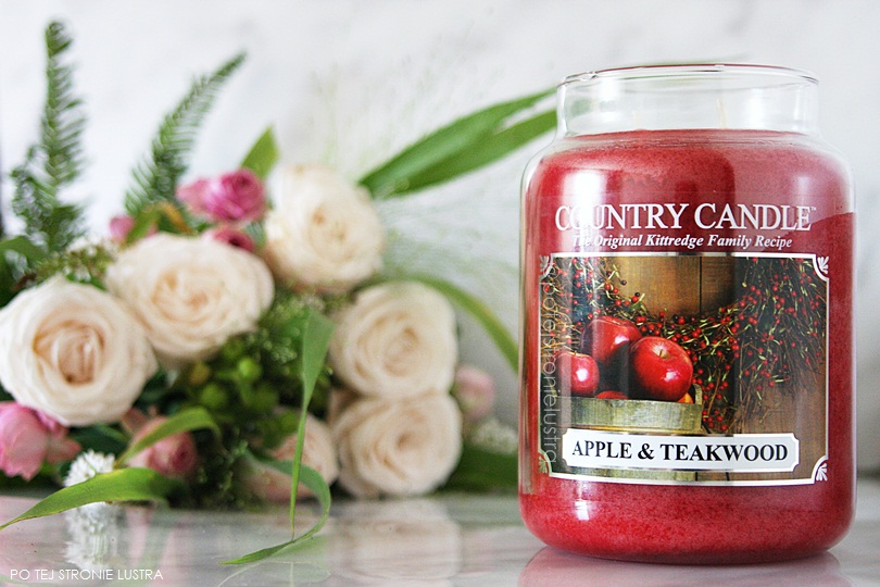 świeca country candle apple & teakwood