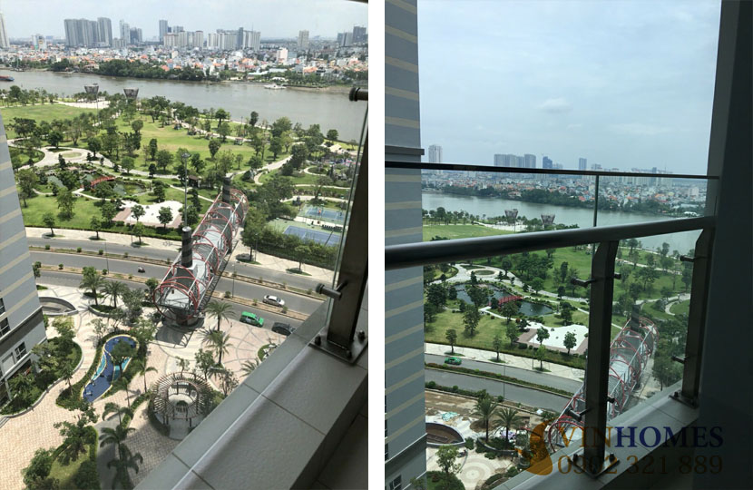 Bán căn hộ 2PN không nội thất Vinhomes Bình Thạnh