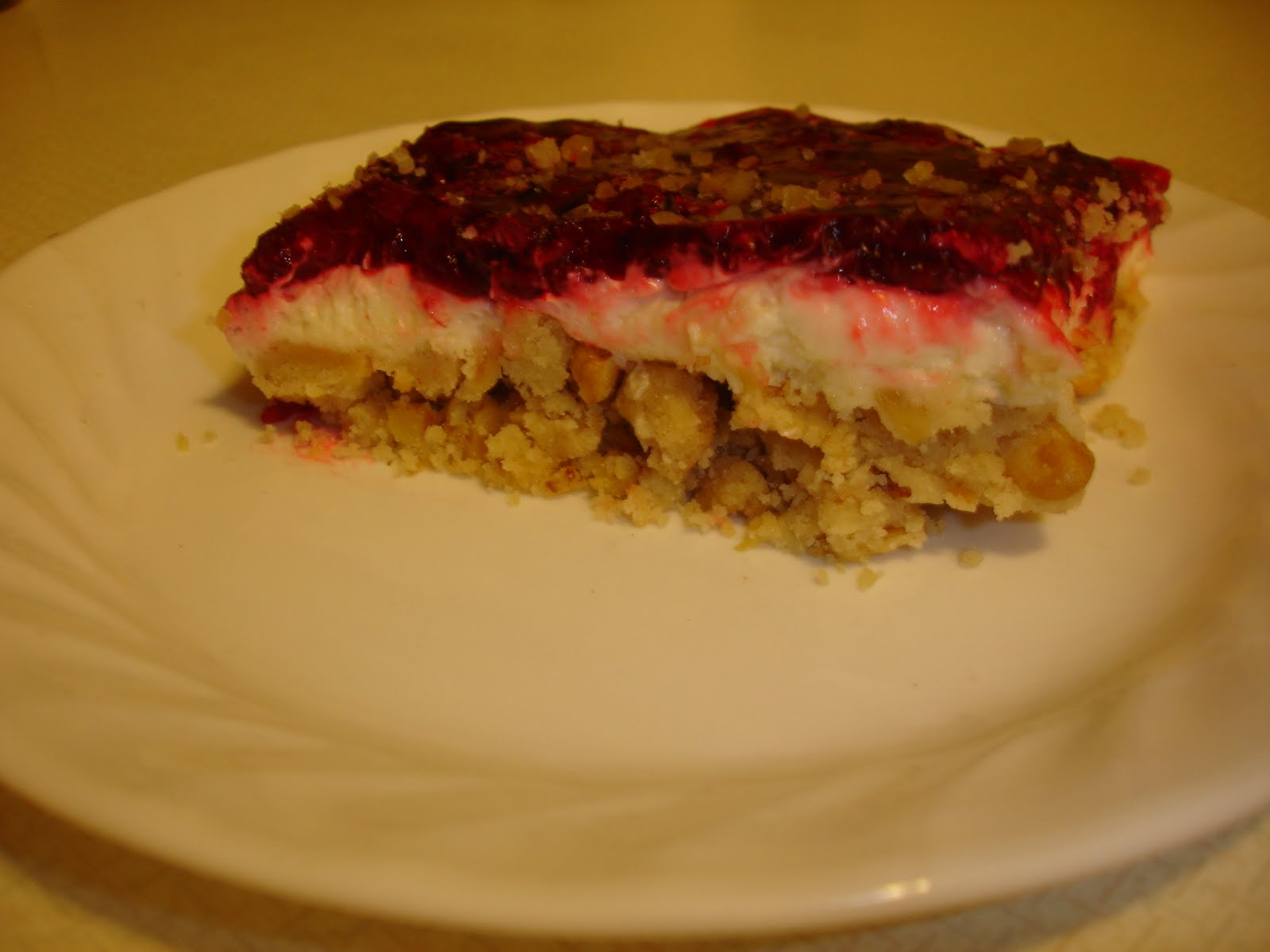 Keeping Tables Connected: RASPBERRY DANISH DESSERT