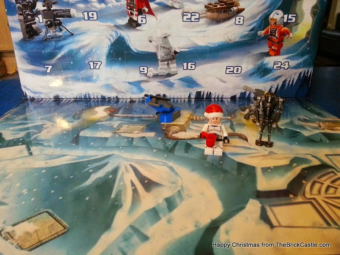 lego star Wars Advent Calendar december 4 Angry stormtrooper backdrop