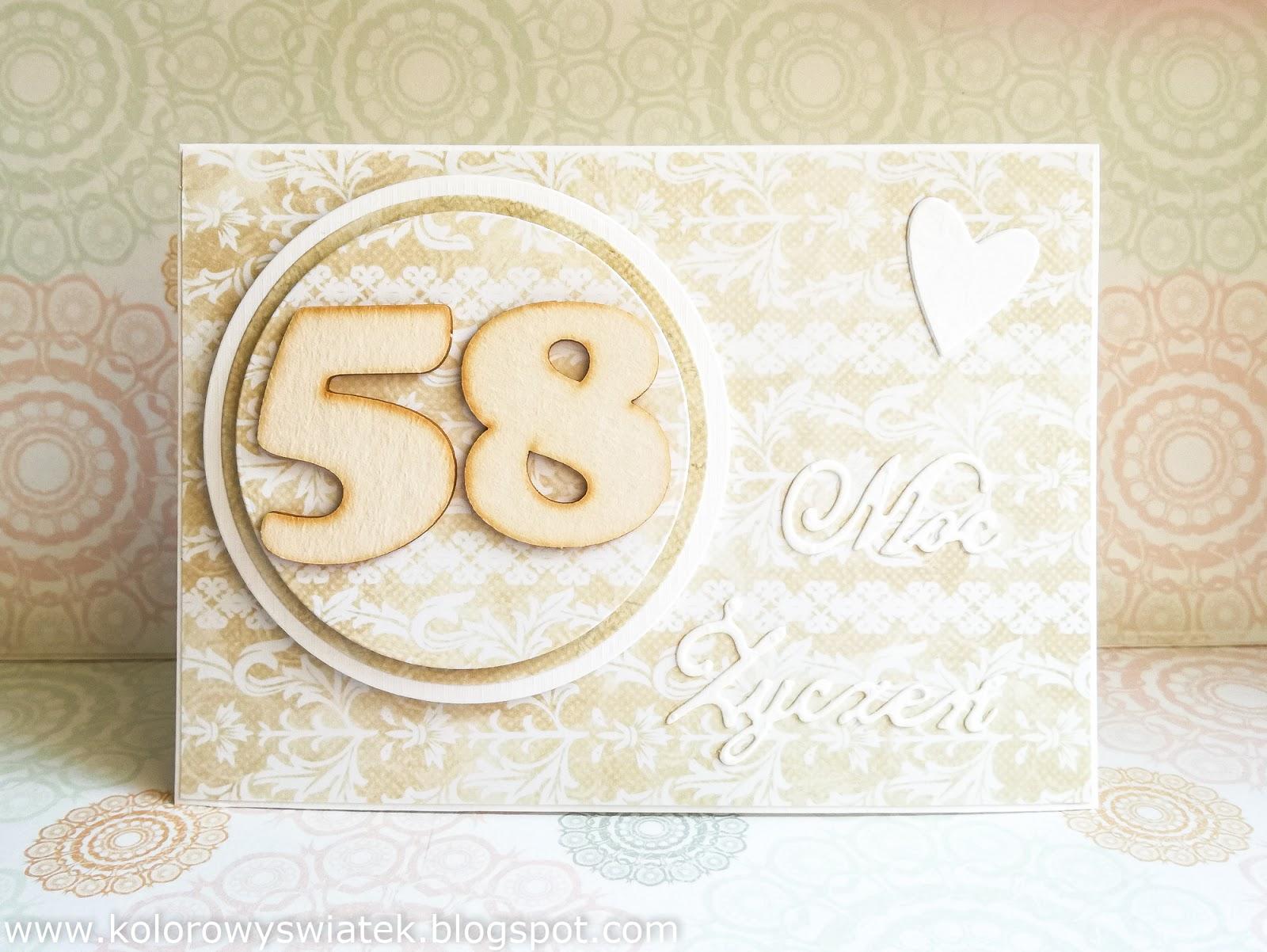58 urodziny
