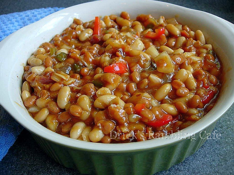 Recipe for pork casserole with beans