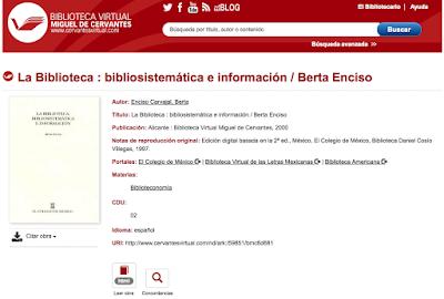 http://www.cervantesvirtual.com/obra/la-biblioteca-bibliosistematica-e-informacion--0/