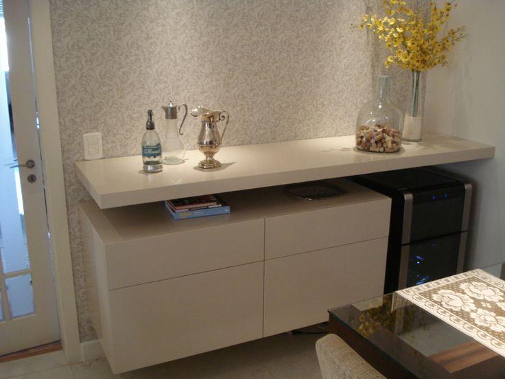 Construindo minha casa clean d vida da leitora salas de - Armarios para sala de estar ...