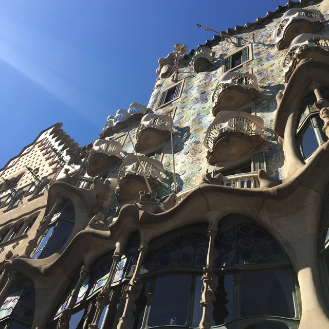 Barcelona Hello Freckles August Summer Travel Blogger City Break Spain Casa Batllo Gaudi Architecture