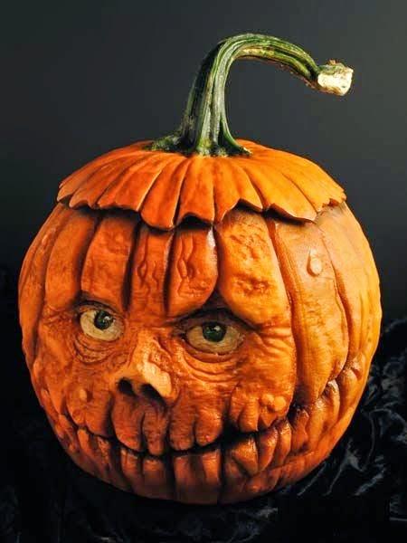 Monster Faced Pumpkin Illusion | Genius Puzzles