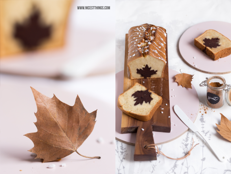 Autumn Leaf Cake Cinnamon