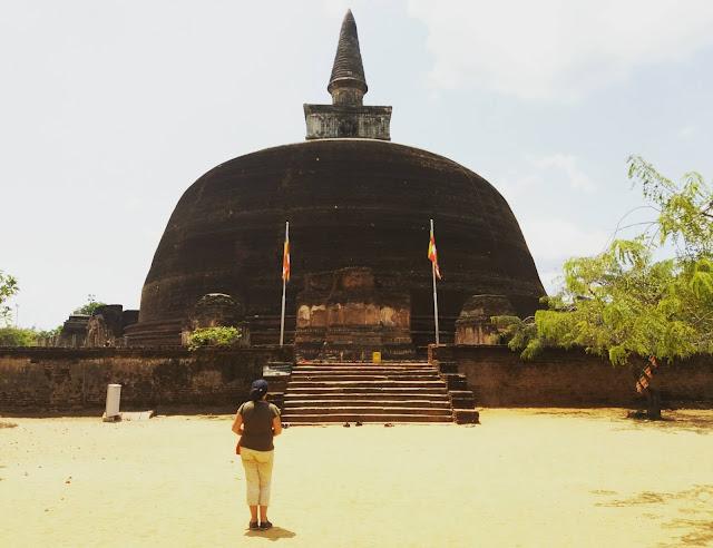 Polonnaruwa estupa