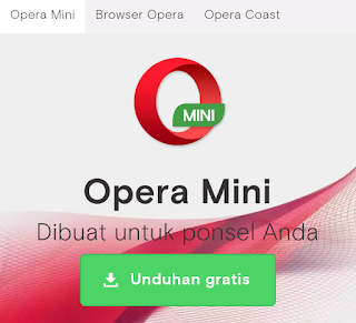 Aplikasi Opera Mini Android