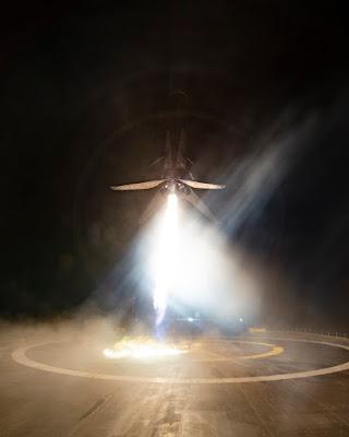 Tên lữa Falcon-9 hoàn thành sứ mệnh đầu tiên khi đưa vệ tinh Merah Putib lên quỹ đạo trái đất