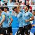 Uruguai vence Rússia, fica com 100% de aproveitamento e avança como líder do Grupo A