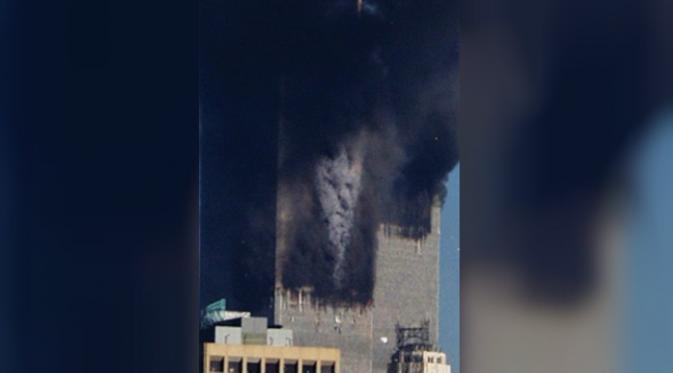 penampakan malaikat pada tragedi WTC 11 september