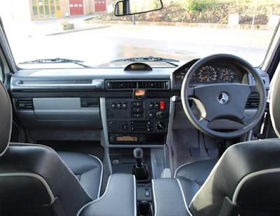 Interior Jip Mercy G-Class W463 300GE