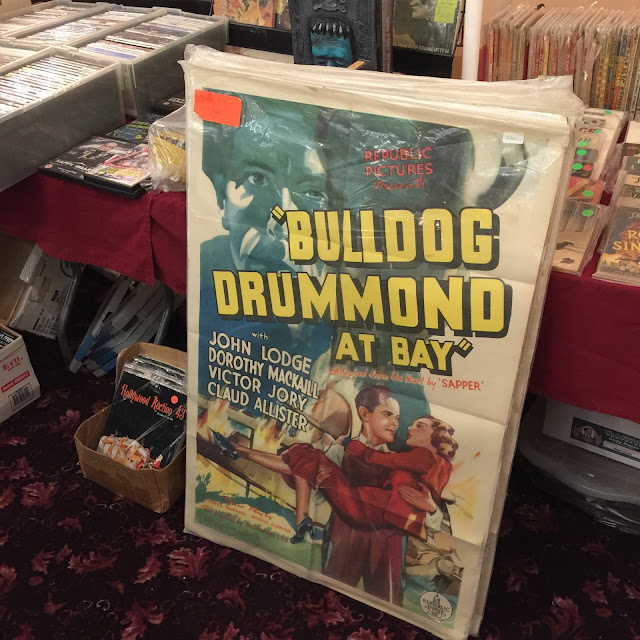 Movie poster for Bulldog Drummond at Bay