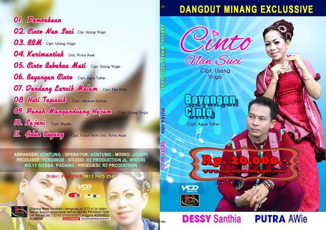 Putra Awie & Dessy Santhia - Cinto Nan Suci (Album Dangdut Minang Exclusive)